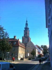 Greifswald, Blick auf den Dom