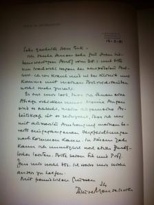Peter de Mendelssohn an Wolfgang Erk