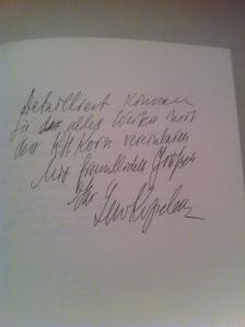 Briefauszug Lew Kopelew an Wolfgang Erk