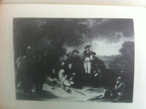Abbildung des Gemäldes von Frisch, das im Neuen Palais in Potsdam hängt. (Foto: nw2013)