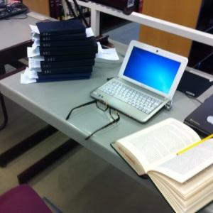 Recherche in der Staatsbibliothek Foto: nw2013