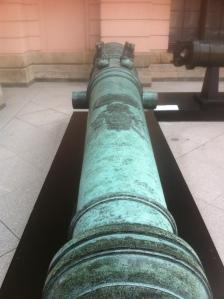 Preußische Kanone im Schlüterhof des Zeughauses Foto: nw2013