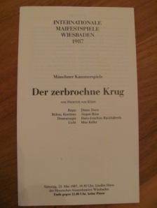 Eingeladen zu den Maifestspielen 1987, Regie: Dieter Dorn Foto: nw2014