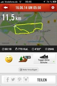 Laufstrecke Tiergarten Berlin Foto: nw2014