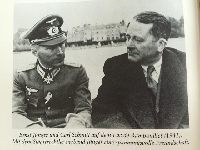 Ernst Jünger und Carl Schmitt 1941 #Nationalsozialismus #Weltkrieg