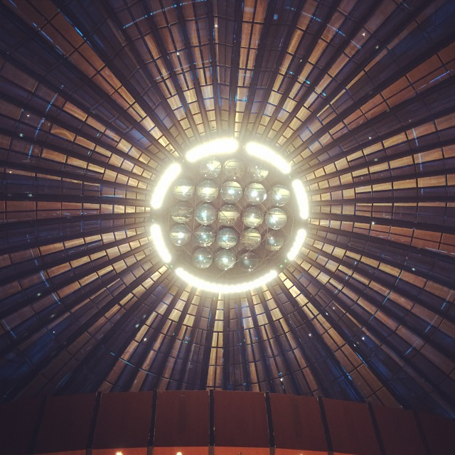 Decke der Düsseldorfer Tonhalle Foto: nw2014