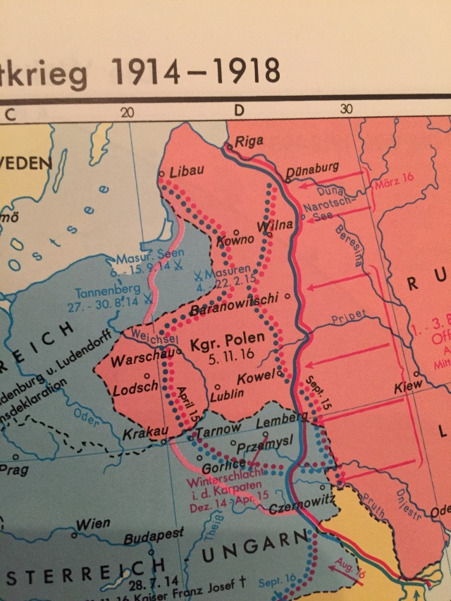 Leisering, Historischer Weltatlas, S. 107 Kartenausschnitt, Foto: nw2015