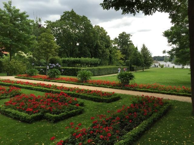 Liebermann-Villa: Garten