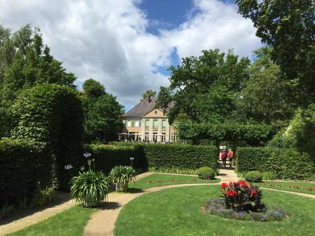 Die Liebermann-Villa vom hinteren Garten aus gesehen Foto: nw2015
