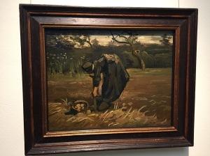Kartoffelsammlerin, van Gogh Foto: nw2015