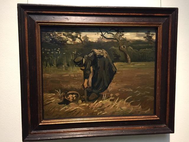 Kartoffelsammlerin, van Gogh