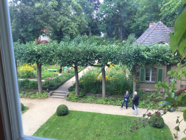 Liebermann-Villa: Blick aus dem Atelier