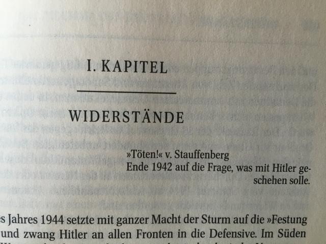 Joachim Fest, Hitler, S. 985. Foto: nw2015