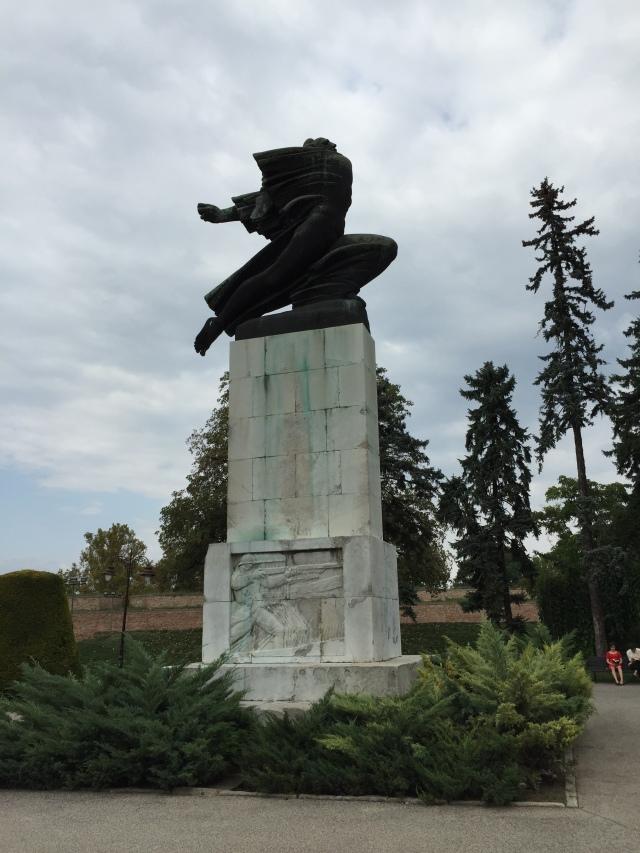 Ehrenmal für die serbisch-französische Waffenbrüderschaft 1914-1918 Foto: nw2015