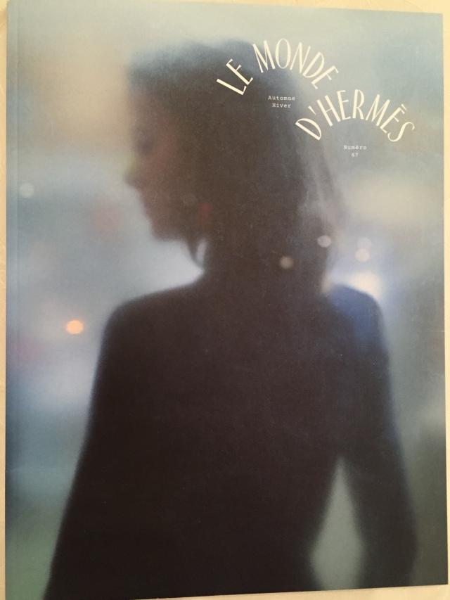 """Cover des Magazins """"Le Monde d'Hermès"""" Foto: nw2015"""