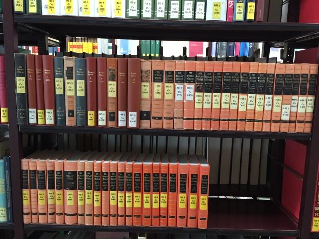 Romanführer in der Staatsbibliothek Berlin Foto: nw2015