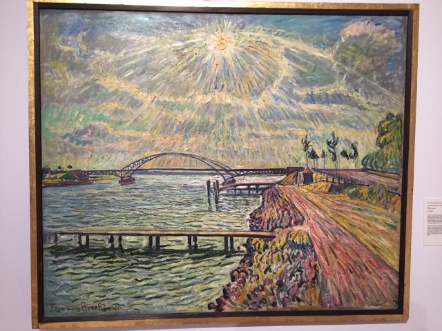 Theo von Brockhusen, Baumgartenbrücke mit Blick über die Havel, o.J. Foto: nw2015