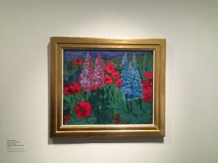 Nolde: Blumengarten F, 1915 Foto: nw2015