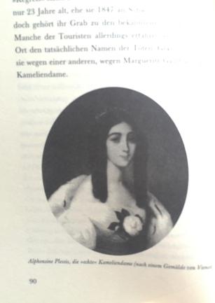 """Die echte Kameliendame, aus dem Buch """"Der Kamelienwald"""" Foto: nw2015"""