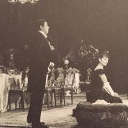 """Ausschnitt Bühnenfoto; aus dem Buch """"Maria Callas. Die Biographie"""" von Stelios Galatopoulos, 1998, dt. 1999 Foto: nw2015"""