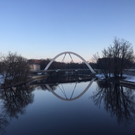 Brücke über den Fluß Emajögi Foto: nw2016