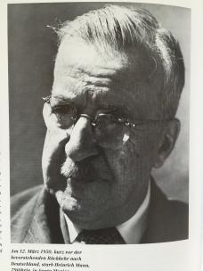 Heinrich Mann, um 1949 aus: Wysling/Schmidlin (Hrsg.), Thomas Mann, Ein Leben in Bildern, 2. Aufl. 1994