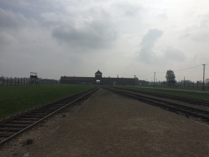 Auschwitz-Birkenau: kein Weg zurück Foto: nw2016