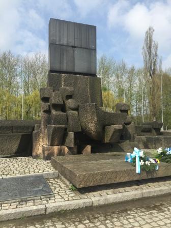 Auschwitz-Birkenau: Denkmal für die Opfer Foto: nw2016