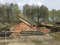 Auschwitz-Birkenau: Ruine einer der großen Gaskammer-Krematorium-Kombinationen Foto: nw2016