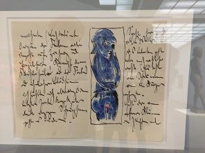 Seite eines Briefes an Erich Heckel | Foto nw2017