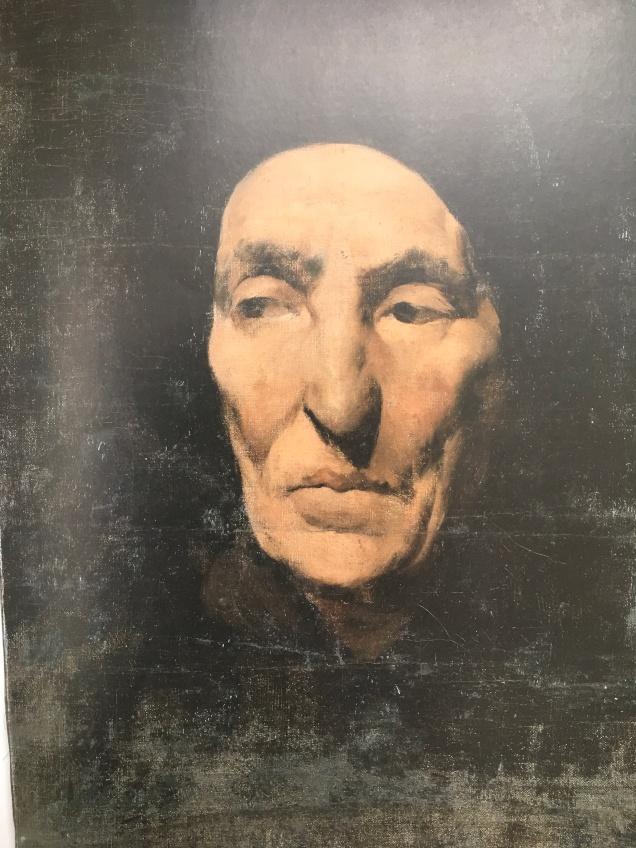 Porträt einer alten Frau, Ludwig Klaus zugeschrieben