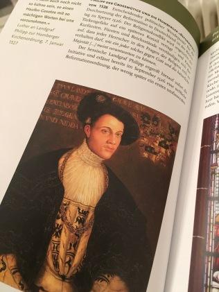 Landgraf Philipp von Hessen, Gemälde von Hans Krell, 1534/36 – aus dem besprochenen Band | Foto nw2017