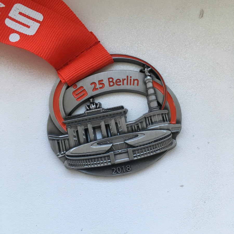 S25 Berlin 2018 - Finisher-Medaille #running