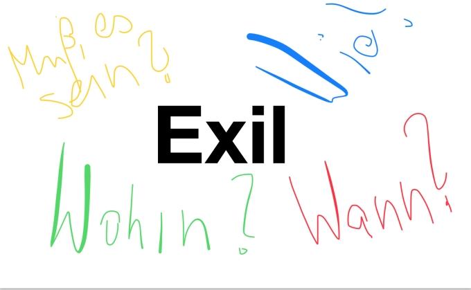 Fragen zum Exil | Bild: nw2018
