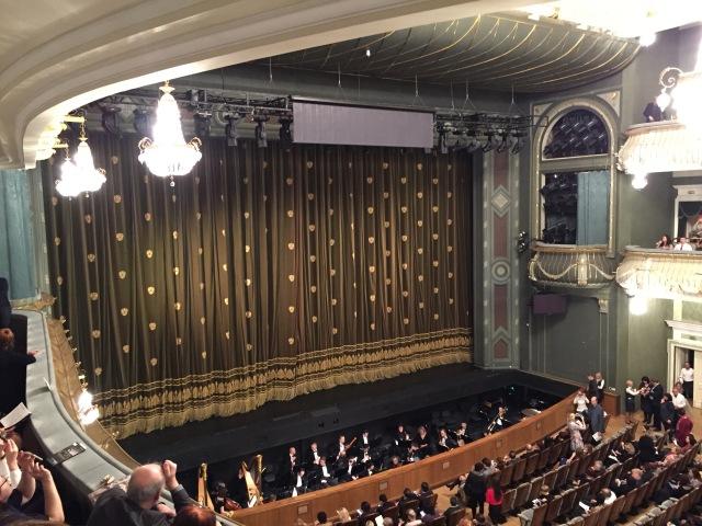 Nebenbühne des Bolschoitheaters Dezember 2017 | Foto: nw2017