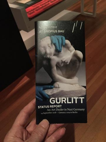 Gurlitt. Status Report - Foto: nw2018 #museum #lootedart