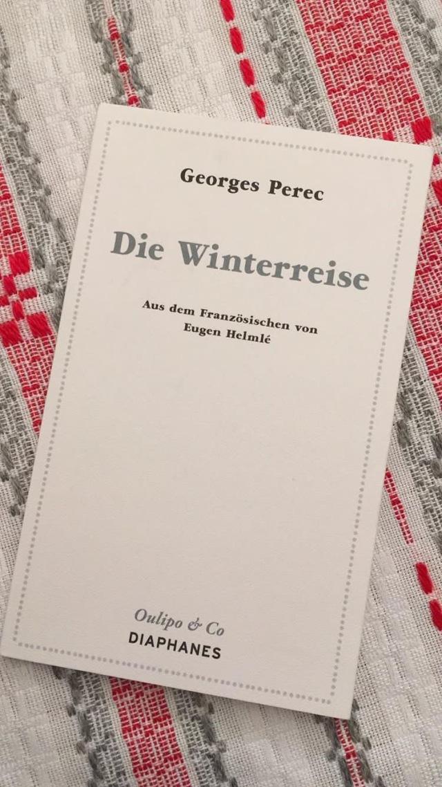 Georges Perec, Die Winterreise | foto: nw2019 #Erzählung