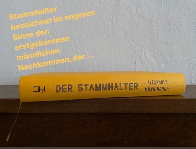 Alexander Münninghoff, Der Stammhalter | Foto nw2020